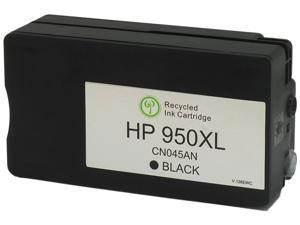 Green Project Compatible Black High Yield Ink Cartridge (Alternative for HP 950XL/CN045AN)