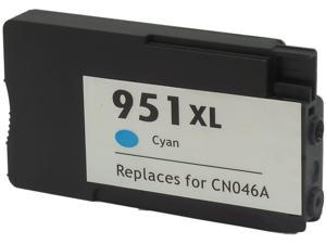 Green Project Compatible Cyan High Yield Ink Cartridge (Alternative for HP 951XL/CN046AN)