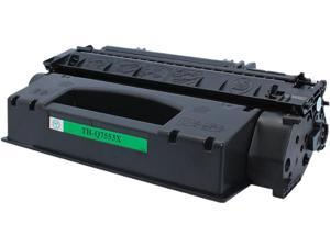 Green Project Compatible Black High Yield Toner Cartridge (Alternative for HP 49X/53X/Q5949X/Q7553X)