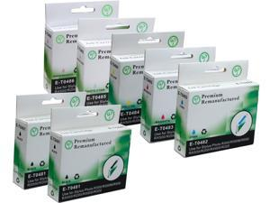 Green Project E-T0481(7)PK Black and Colors Compatible Epson E-T0481 Ink Cartridge 7 Pack