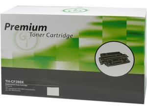 Green Project Compatible Black High Yield Toner Cartridge (Alternative for HP 80X/CF280X/Canon 119 II)