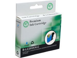 Green Project B-LC205XXLC Compatible Brother LC 205 XL Cyan