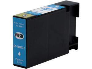 Green Project C-PGI1200XLC Compatible Canon PGI 1200 High Yield Cyan