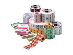 """Zebra 10010037 1.20"""" x 0.85"""" DT Z-Select 4000D Labels - 1 Case (6 Rolls)"""
