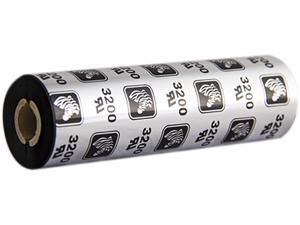 "Zebra 03200GS11007 Wax/Resin Ribbon, 4.33"" x 244 ft., 3200 High Performance, 0.50"" Core"