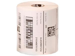 "Zebra 10005851 4"" x 2"" Z-Perform 2000T Labels - 1 Case (6 Rolls)"