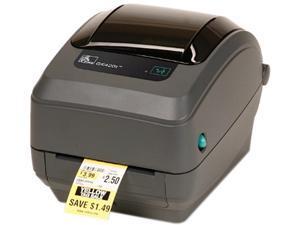 "Zebra GK420t 4"" Desktop Thermal Transfer Label Printer, 203 dpi, USB, Serial, Centronics Parallel, Dispenser (Peeler), EPL, ZPLII - GK42-102511-000"