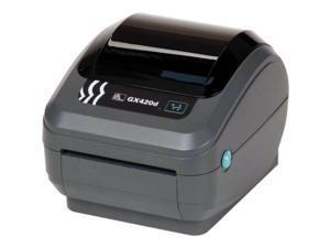 """Zebra GX420d 4"""" Performance Desktop Direct Thermal Label Printer, 203 dpi, USB, Serial, Ethernet, EPL2, ZPLII – GX42-202410-000"""