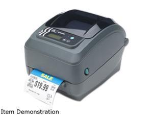 Zebra GX430t Desktop Thermal Transfer Barcode/Label Printer, LCD, 300dpi, EPL2, ZPL II, USB, Serial, 802.11b/g - GX43-102710-000