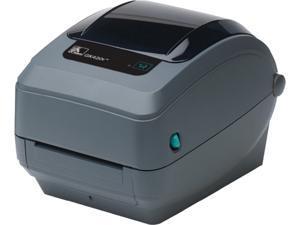 "Zebra GX420t 4"" Performance Desktop Thermal Transfer Label Printer, 203 dpi, USB, Serial, Centronics Parallel, Cutter (Liner/Tag), EPL2, ZPLII - GX42-102512-000"