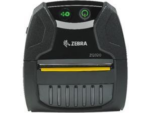 "Zebra ZQ320 3"" Direct Thermal Mobile Receipt and Label Printer, 203 dpi, Bluetooth, No Label Sensor, Outdoor Use, English Fonts, Tear bar, CPCL, ZPL - ZQ32-A0E02T0-00"