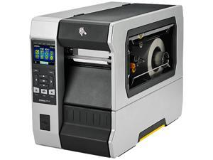 "Zebra ZT610 4"" Thermal Transfer Label Printer with Color Screen, 203dpi, Serial, USB, Gigabit Ethernet, Bluetooth 4.0, USB Host, Tear, ZPL - ZT61042-T010100Z"