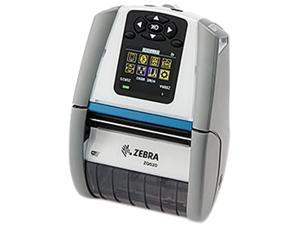 "Zebra ZQ610 2"" Mobile Direct Thermal Label Printer for Healthcare, 203 dpi, Color LCD, Dual 802.11AC/Bluetooth 4.x, Linered Platen, English Fonts, CPCL, EPL, ZPL, XML Support, Belt Clip – ZQ61-HUWA000"