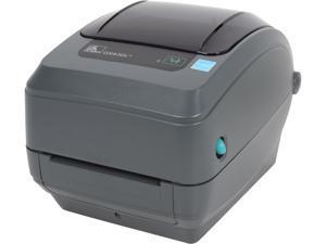 """Zebra GX430t 4"""" Performance Desktop Thermal Transfer Label Printer, 300 dpi, USB, Serial, Ethernet, 64MB Flash, RTC, Adjustable Black Line Sensor, EPL2, ZPLII – GX43-102410-150"""
