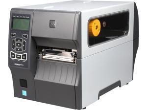 """Zebra ZT410 4"""" Industrial Thermal Transfer Label Printer, 203 dpi, Serial, USB, 10/100 Ethernet, Bluetooth 2.1/MFi, USB Host, EZPL, XML Support, US Cord - ZT41042-T010000Z"""