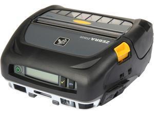 "Zebra ZQ520 4"" Mobile Direct Thermal Label Printer, 203 dpi, Bluetooth 4.0, Linered Platen, English, CPCL & ZPL, XML support - ZQ52-AUE0000-00"