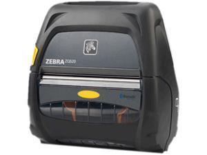 "Zebra ZQ520 4"" Mobile Direct Thermal Label Printer, 203 dpi, Dual Radio (Bluetooth 3.0/WLAN), Linered Platen, Active NFC, No Batt, Eng, CPCL & ZPL, XML support - ZQ52-AUN0110-00"