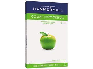 Hammermill 10254-1 Color Copy Paper, 100 Brightness, 28lb, 11 x 17, Photo White, 500/Ream
