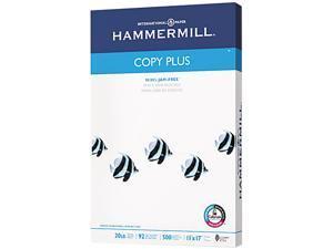 Hammermill 10502-3 Copy Plus Copy Paper, 92 Brightness, 20lb, 11 x 17, White, 500 Sheets/Ream