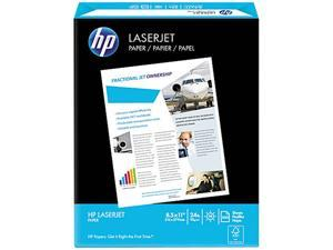 HP 11240-0 LaserJet Paper, 98 Brightness, Ultra White, 500 Sheets / Ream
