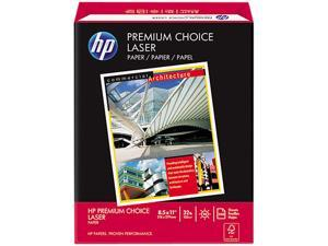HP 11310-0 Premium Choice LaserJet Paper, 98 Brightness, White, 500 Shts / Rm