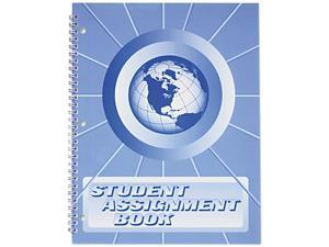Ward SA-98 Student Assignment Book, 40 Weeks, 11 x 8-1/2, Laminated Cover