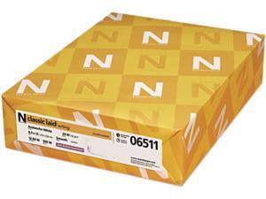 Neenah Paper 06511 Classic Laid Stationery Writing Paper, 24-lb., 8-1/2 x 11, Avon White, 500/Ream