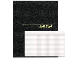 National Brand 43523 Roll Call Book, 9-1/2 x 7-7/8, 48 Pages