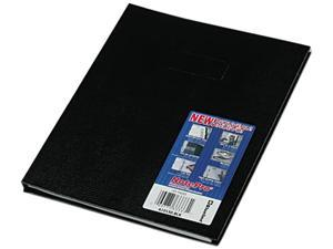 Blueline A10150BLK Note Pro Business Notebook, College Rule, Letter, White, 150 Sheets/Pad