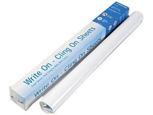 National Brand 24-391 Write On, Cling On Easel Pad, Unruled, 27 x 34, White, 35 Sheets/Pad
