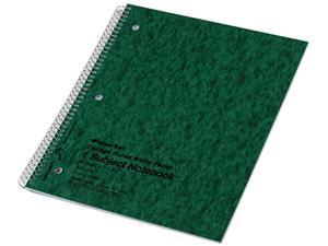 National Brand 31987 Subject Wirebound Notebook, College/Margin Rule, Ltr, WE, 80 Sheets/Pad