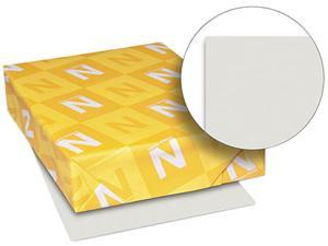 Wausau Paper 82341 Exact Vellum Bristol Cover Stock, 67 lbs., 8-1/2 x 11, Gray, 250 Sheets