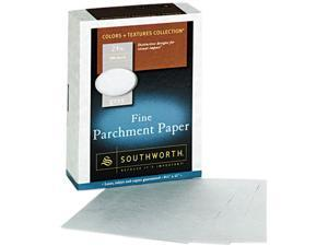 Southworth 974C Parchment Specialty Paper, 24 lbs., 8-1/2 x 11, Gray, 500/Box