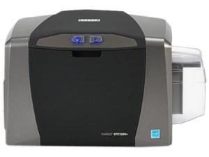 HID Global 050600 Fargo DTC1250e Single-sided ID Direct-to-Card Printer & Encoder, USB Kit, Asure ID Solo Software, Web Camera, USB