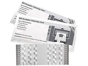 KICTeam KW3-BMB15M Bill Acceptor Cleaning Card featuring Waffletechnology