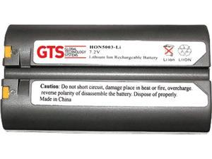 GTS HON5003-LI direct replament battery for O'Neil MicroFlash 4T / 4Te / 4TCR / LP3 / OC2  series scanners (OEM Equivalent# 550030, 550039-000)