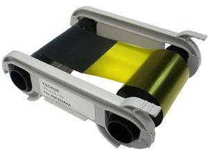 Evolis R6F003AAA 6-Panel Color Ribbon, YMCKOK 200 Prints/roll, For Primacy Double-sided