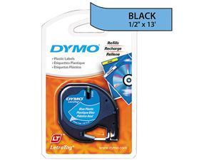 DYMO LetraTag Plastic Label Tape Cassette