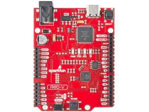 SparkFun RED-V RedBoard - SiFive RISC-V FE310 SoC Development Board Freedom E310 Core RISC-V Instruction Set Architecture (ISA) USBC Microcontroller I2C Qwiic Connect Sys Zephyr RTOS Build Environment