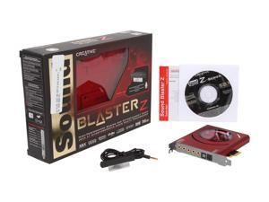 Creative Sound Blaster Z PCIe 116dB SNR Gaming Sound Card with 600 ohm Headphone Amp and Beamforming Microphone