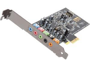 Creative Sound Blaster Audigy FX 5.1 PCIe Sound Card with 600 ohm Headphone Amp
