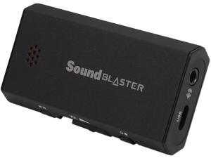 Creative Sound Blaster E1 USB Sound Card and DAC with Powered Headphone Amp