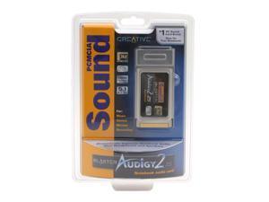 Creative Sound Blaster Audigy 2 ZS Notebook PCMCIA Sound Card