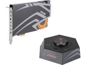 ASUS STRIX RAID PRO 8 Channels Analog Playback: 44.1K / 48K / 88.2K / 96K / 176.4K / 192KHz  Analog Recording:44.1K / 48K / 88.2K / 96K / 176.4K / 192KHz PCI Express Interface Sound Card
