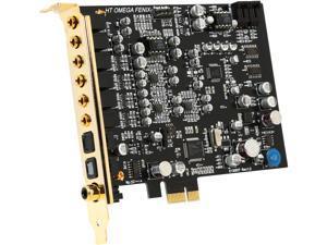 HT | OMEGA FENIX 7.1 Channels PCI Express x1 Interface Sound Card