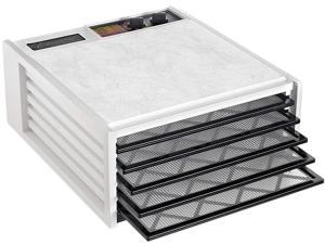 Excalibur 3526TW 5-Tray 26 Hour Timer Electric Food Dehydrator White