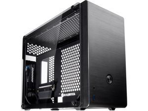 "RAIJINTEK OPHION EVO, a SFF Case (Mini-TX) w/ Tempered Glass, Max. 330mm VGA Card, ATX PSU , TYPE-C Hub, Riser Card, 3x2.5"" HDD, Magnetic Design Dust Filter, 240 AIO Water Cooling Option On Top"