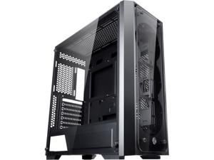 "RAIJINTEK PONOS TG, a Mid-Tower Case w/ Tempered Glass (Front & Side), EEB M/B, Max. 390mm VGA Card, Max. 5×2.5""HDD, 360mm Radiator at Front, Max. 10×12025 Fans, USB3.0 Hub, Magnetic Dust Filters"