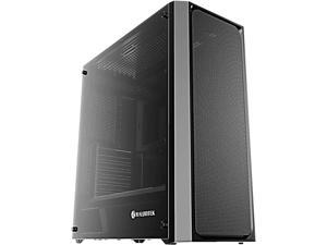 "RAIJINTEK PONOS MS, a Mid-Tower Case w/ Tempered Glass and Front Mesh, EEB M/B, Max. 390mm VGA Card, Max. 5x2.5""HDD, 360mm Radiator at Front, Max. 10x12025 Fans, USB3.0 Hub, Magnetic Dust Filters"