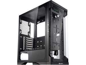 RAIJINTEK SILENOS, an ATX Tower Designed to Install High Air Flow 200mm Fans and a Clean Transparent Front and Side Tempered glass (4.0mm), Supports VGA length up to 320mm, 2x3.5 HDDs & 6x2.5 HDD/SSDs